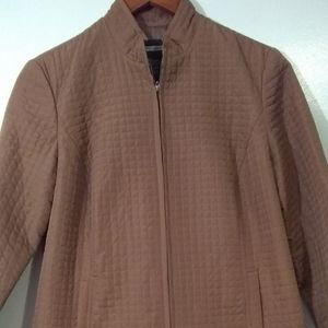 Requirements Quilted Jacket Camel Colored